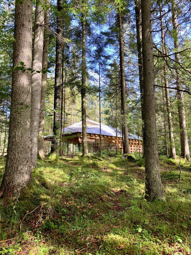 Meditationshaus von Kengo Kuma